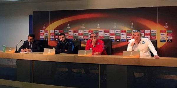 Sarri: Villarreal una delle squadre più in forma d'Europa. Higuain? Decide lui se giocare