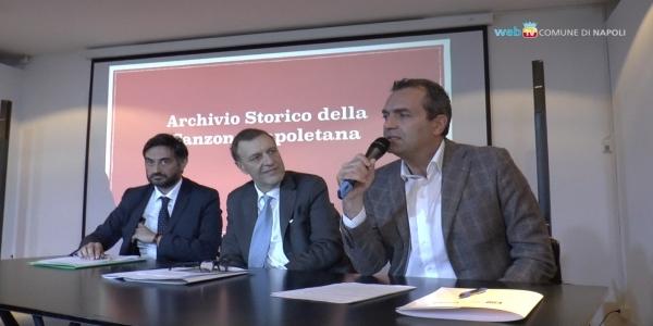 Inaugurato l'Archivio Storico della Canzone Napoletana nella Casina Pompeiana