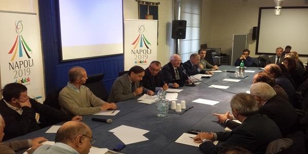 Campania: Universiadi, riunione in Regione con le Federazioni Sportive