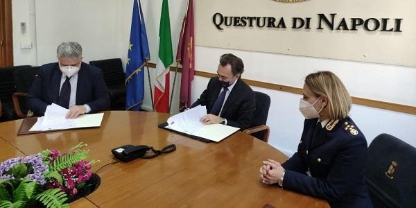 Napoli: percorso riabilitativo, firmato protocollo Questura - C.I.P.M. Campania