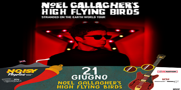Napoli: il 21 giugno Noel Gallagher all'Arena Flegrea