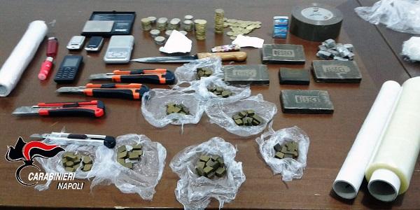 Ercolano: contrasto allo spaccio di droga, operazione dei carabinieri