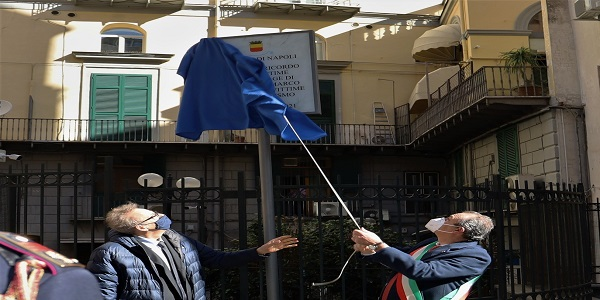 de Magistris a Calata San Marco: Napoli non ha mai dimenticato