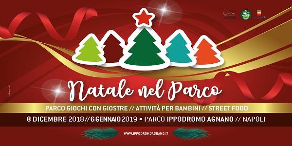 Napoli: Natale al parco, dall' 8 dicembre al 6 gennaio all'ippodromo di Agnano