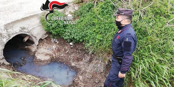 Acerra: i CC Forestali denunciano la titolare di un ditta per smaltimento illecito di rifiuti