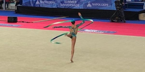 Universiade: Ginnastica Ritmica, medaglia d'argento per Alessia Russo