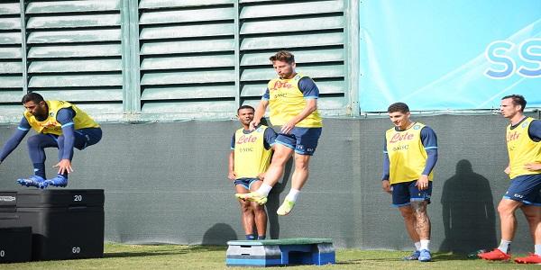 Il Napoli prepara il match con il Torino, il report dell'allenamento