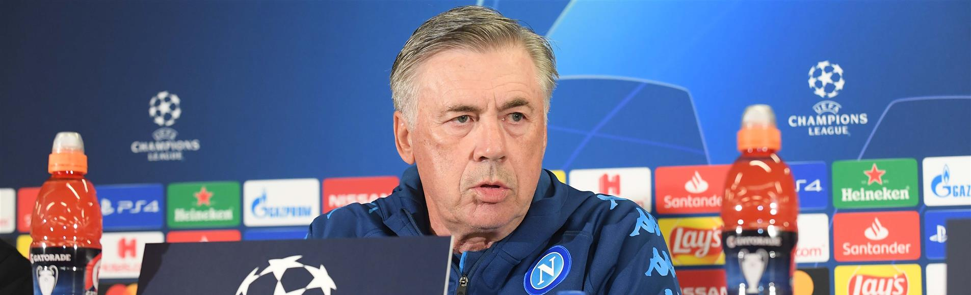 Salisburgo - Napoli, Ancelotti: ci giochiamo molto, voglio coraggio ed intensità