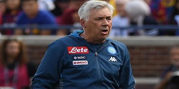 Napoli - Barcellona 0-4, Ancelotti: buon primo tempo, saremo pronti per l'inizio del campionato