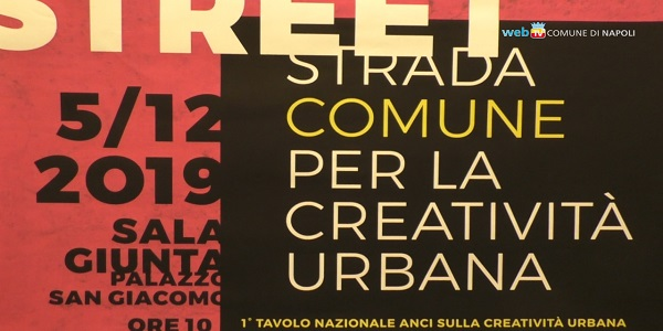 Street art come patrimonio civico, Napoli modello d'Italia