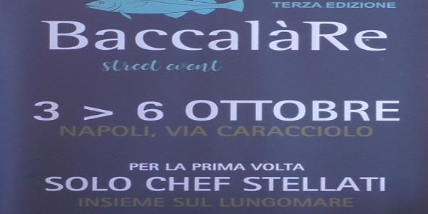 Napoli: presentata a Palazzo San Giacomo la 3° edizione di BaccalàRe