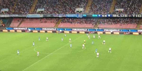 Un super Napoli batte l'Atalanta 4-1. Primo gol in A per Osimhen