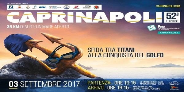 Capri - Napoli, la classica del fondo avrà il suo traguardo al Circolo Nautico Posillipo