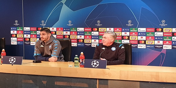 Napoli - Genk, Ancelotti: dubbi su Allan e Milik ma per domani sono molto ottimista