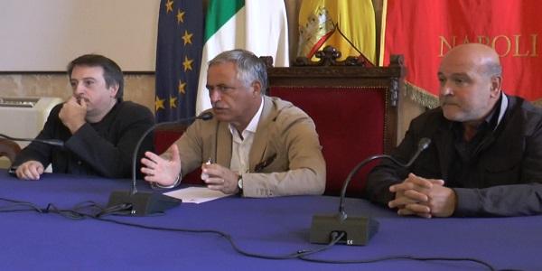 Napoli: presentato stamattina lo spettacolo 'Cravattari'.