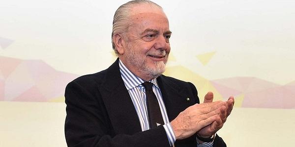 De Laurentiis presenta il ritiro in Trentino: accordo rinnovato per tre anni