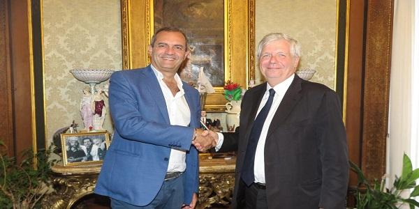 Napoli: de Magistris ha ricevuto Stéphane Lissner, nuovo soprintendente del San Carlo