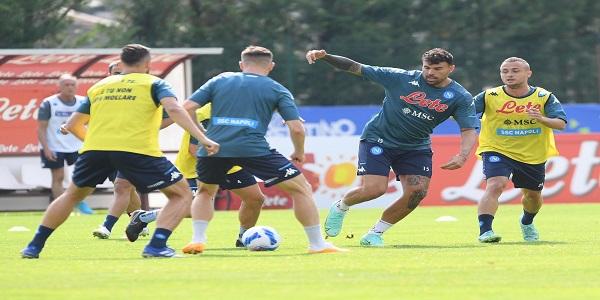 Dimaro Folgarida: ottavo giorno di ritiro per il Napoli