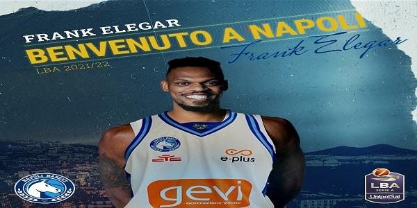 Colpo della Gevi Napoli Basket: Frank Elegar è il nuovo pivot degli azzurri