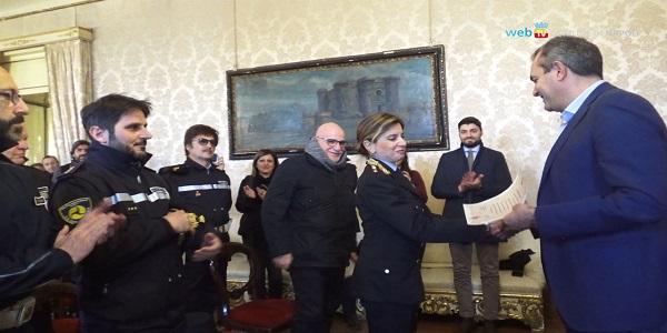 Napoli: encomio agli agenti impegnati nella tutela del mare