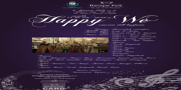 San Giorgio a Cremano: appuntamenti musicali e teatrali per concludere le festività