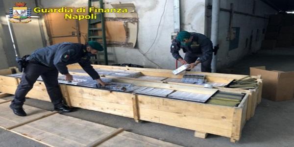 Somma V.: la GdF sequestra 3, 8 tonnellate di Tle e arresta 6 persone
