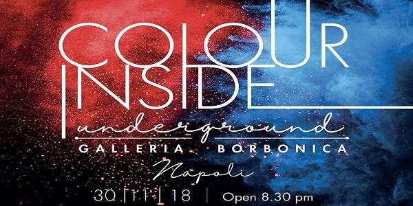 Alla Galleria Borbonica 'Colour Inside Underground', viaggio nel tempo nella Napoli sotterranea