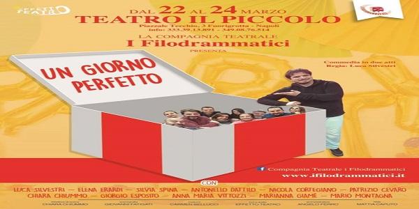 Napoli: al Teatro 'Il Piccolo', dal 22 al 24 marzo va in scena 'Un giorno Perfetto'