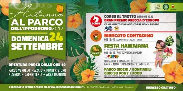 Napoli: Ippodromo di Agnano, una domenica ricca di eventi.