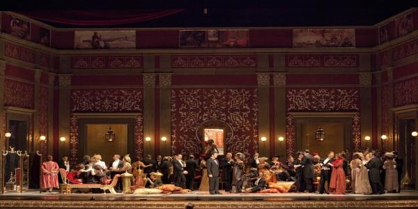 Napoli: al Teatro di San Carlo torna in scena 'La Traviata', di Giuseppe Verdi
