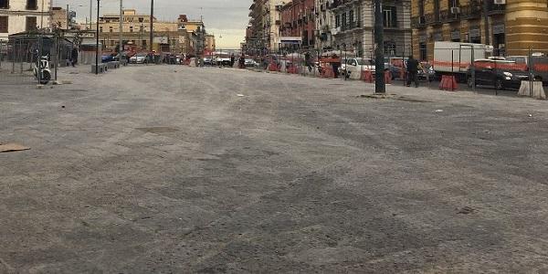 Napoli: terminati i lavori a Piazza San Francesco