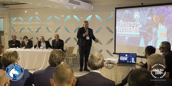 Napoli Basket: a Villa Eubea il 1° Marketing Meeting, Napoliè Crescere Insieme