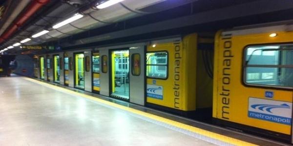 Napoli: domani la presentazione restauro opere d'arte Metro L1 - Stazione Materdei