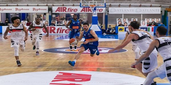 Atlante EuroBasket Roma-Gevi Napoli Basket 72-83. Sacripanti: molto contento per la vittoria