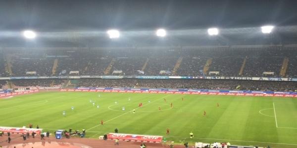 Napoli-Lazio 1-0 : gli azzurri volano in semifinale di coppa Italia