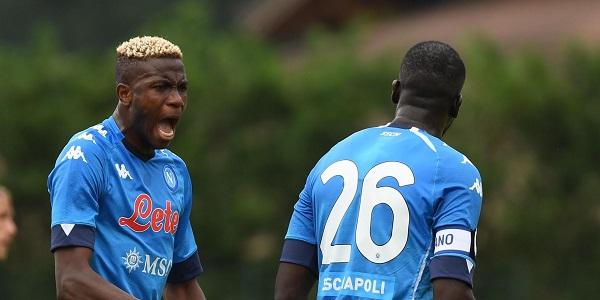 Napoli - Pro Vercelli 1-0, successo azzurro firmato da Osimhen