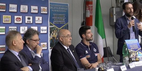 Napoli: presentata la Vesuvio Cup, al Palabarbuto torna il volley internazionale.
