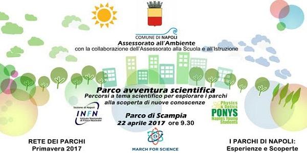 Napoli, Scampia: domani l'evento 'Parco Avventura Scientifica'