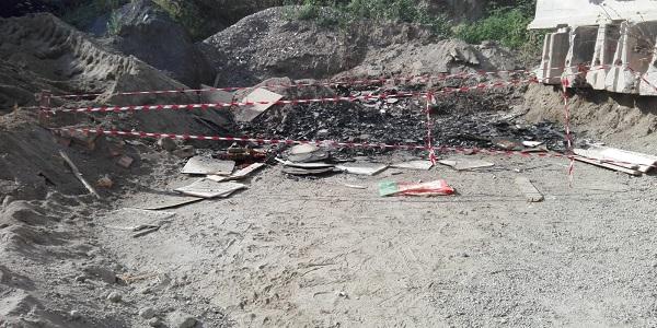 Napoli: la Municipale sequestra una discarica in Via Pigna