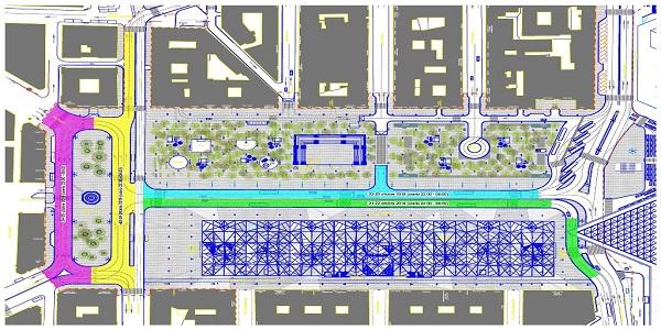 Napoli, Piazza Garibaldi: dal 21 al 25 ottobre la pavimentazione definitiva