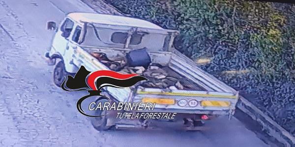 Pomigliano: incendiava rifiuti, CC Forestali e Polizia Locale denunciano un 67enne