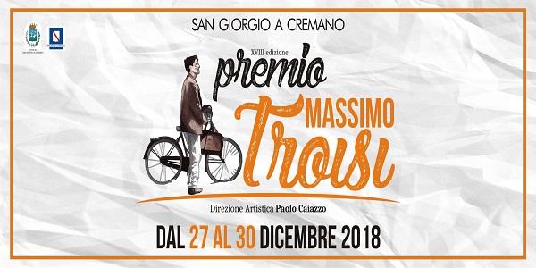 San Giorgio a Cremano: Premio Massimo Troisi, domani la conferenza stampa a Villa Bruno