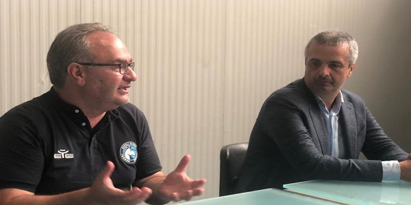Gevi Napoli Basket, Sacripanti prolunga fino al 2023. Il Coach: felice della stima
