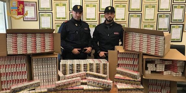 Napoli: la Polizia sequestra 80 kg. di tabacchi lavorati esteri. Denunciato un uomo