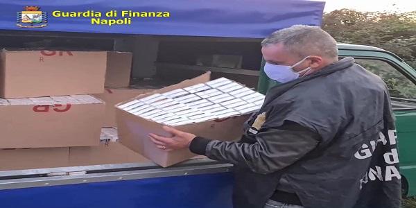 Acerra: la GDF sequestra 300 kg di Tle e arresta un uomo