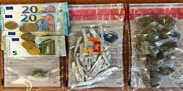 Sant'Antimo: la polizia arresta uno spacciatore