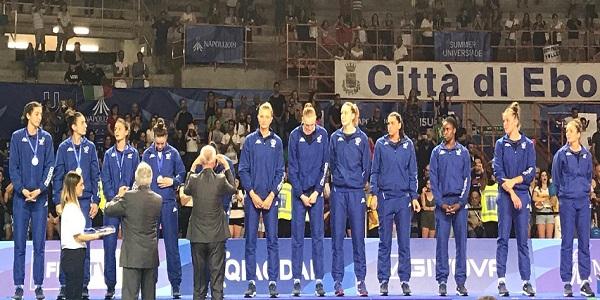 Universiade: Volley femminile, medaglia d'argento per l'Italia